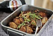 创意烤箱菜  啤酒土豆烤鸡翅的做法
