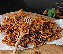 【香辣鸡丝干】——减肥也能吃的低卡小零食的做法