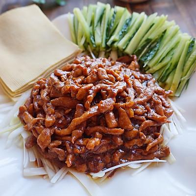 京酱肉丝卷着吃