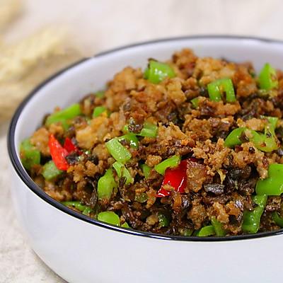 传统云南菜下饭菜黑三剁