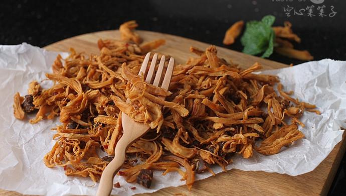 【香辣鸡丝干】——减肥也能吃的低卡小零食