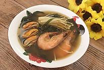 美味海鲜味噌汤的做法