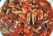 零失败西红柿版鱼香茄条的做法