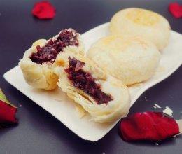 鲜花饼 附玫瑰酱做法的做法