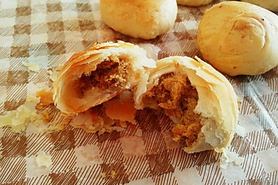 金丝肉松饼(少油低糖版)