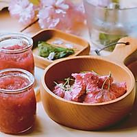 盐渍樱花、樱叶&樱花酱的做法图解28
