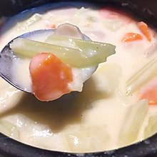 早上好好补充热量之:奶油炖菜