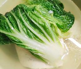 白菜豆腐(健康水煮)的做法