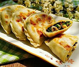 素食记~木耳虾皮韭菜盒子的做法