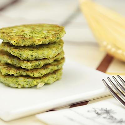 外脆里糯富含DHA 三文鱼蔬菜米饼