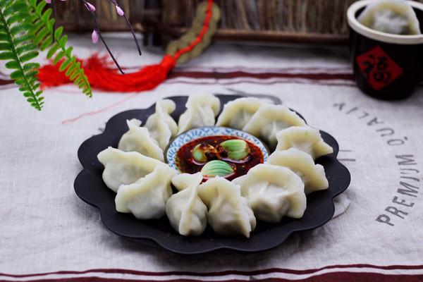 #新年开运菜,好事自然来#海参木耳饺子的做法
