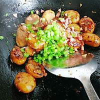 #做道懒人菜,轻松享假期#酱烧土豆仔的做法图解10