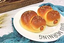 烤肠大米面包卷的做法