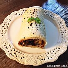 酱香鸡蛋卷饼#急速早餐#