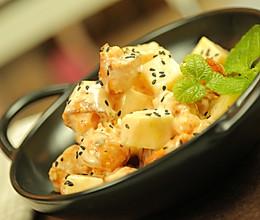 凤梨油条虾#炎夏消暑就吃「它」#的做法