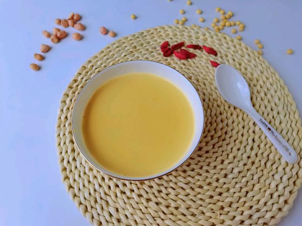 秋季养生豆浆—花生枸杞豆浆的做法