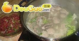 南方牛肉火锅的做法