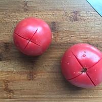 #520,美食撩动TA的心!#西红柿鸡蛋面的做法图解1