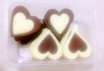 双色心形饼干的做法