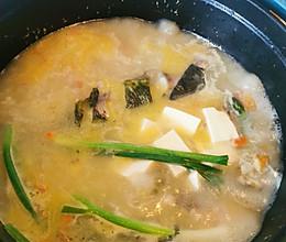珐琅锅昂刺鱼汤的做法