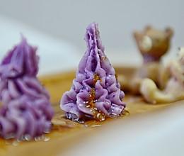桂花山药紫薯泥的做法