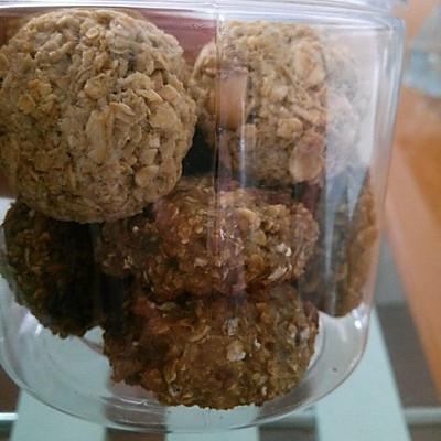 减脂增肌必备健康能量小零食(三种口味无糖无油燕麦饼干)