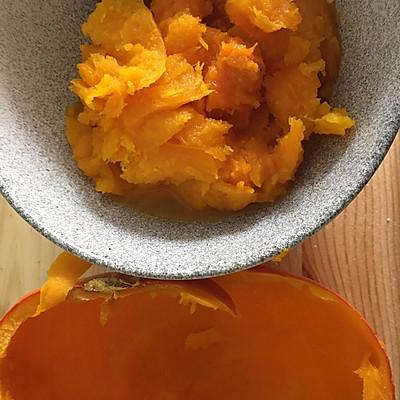 南瓜汤圆(燕麦奶酪内馅)—— 一人食的做法 步骤5