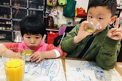 亲子活动:鲜榨橙汁