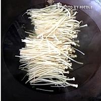 润肠排毒的凉拌金针菠菜的做法图解4