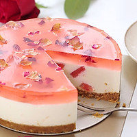 玫瑰芝士蛋糕的做法图解13