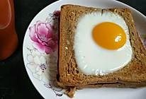 鸡蛋吐司的做法