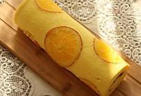 橙味蛋糕卷的做法
