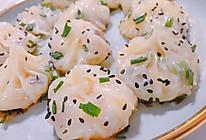虾仁粉丝生煎包 饺子皮 不用擀面发面 饺子皮做包子的做法