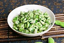 #憋在家里吃什么#清炒蚕豆的做法