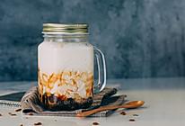 【初味日记】今年夏天在饮料界c位出道的!竟然是黑糖珍珠撞奶!的做法