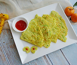 #10分钟早餐大挑战#西葫蛋饼的做法