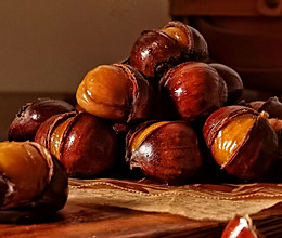 ‼️香甜软糯‼️轻松好剥㊙️烤箱版糖炒栗子的做法