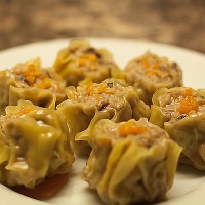 曼步厨房 - 虾肉烧卖