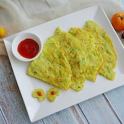 #10分钟早餐大挑战#西葫蛋饼