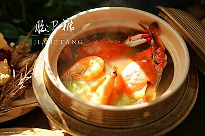 白菜豆腐海鲜汤