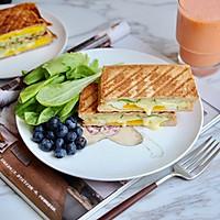 黄瓜鸡蛋热压三明治#花10分钟,做一道菜!#的做法图解15