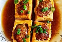 #春日时令,美味尝鲜#豆腐酿肉的做法