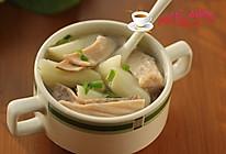 山药肚片汤的做法