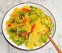 青椒土豆片#晒出你的团圆大餐#的做法