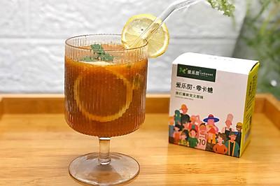 枇杷百香果汁饮品