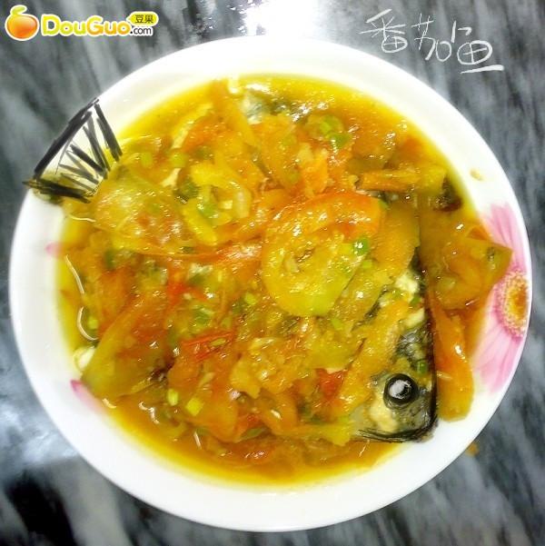 酸酸甜甜番茄鱼的做法