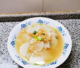 白萝卜汤的做法