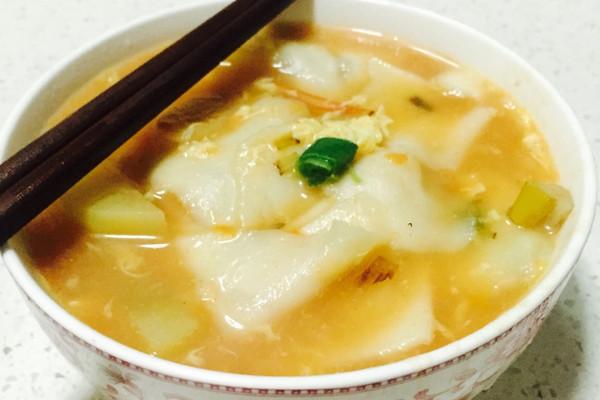 疙锅面—妈妈菜的做法