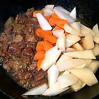软糯的牛肉清香的萝卜·炖牛肉的做法图解9