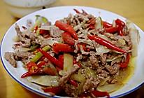 泡椒牛肉丝的做法